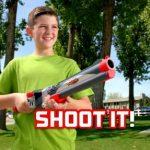 Rocket Fishing Rod on ampuva virveli, lapsille tai aikuisille
