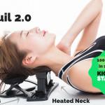 Tranquil 2.0 tukee niskaa ja palauttaa kehon oikeaan asentoon