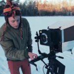 8×10-tuuman kamera muutettiin videokameraksi. Lopputulos on aikamatka!