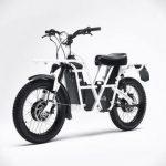 UBCO 2×2 on kaksipyörävetoinen sähköpyörän ja mopon risteytys ja kulkee melkein missä vaan