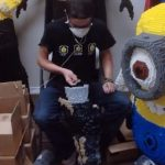 Thor rakentuu videolla 20000 Lego-palikasta
