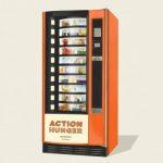 Action Hunger esittelee ruoka-automaatit kodittomille Britanniassa