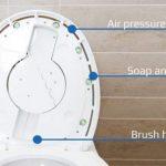 SpinX on ensimmäinen WC-pöntönpesurobotti – viimeinkin!