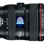 Canon suunnittelee sormenjälkitunnistusta kameran runkoon ja objektiiviin