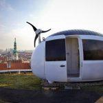 """Ecocapsule on omavarainen liikuteltava """"off-the-grid""""-asunto, todennäköisesti hitti"""
