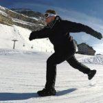 Snowfeet-minisukset ovat kuten retkiluistimet, mutta lasketteluun ja rinteeseen