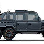 Land Rover Defender – Flying Huntsman 6×6 Soft Top, 6 pyörää, 500 hevosvoimaa maastoon