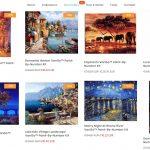 Aikuisten värityskirjat seuraavalla tasolla: Van Goghin maalaukset numeroiduilla kohdilla ja kymmenillä valmiilla väreillä