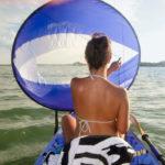 WindPaddle-varjovetoinen kanootti tai kajakki on maisemantutkailijan kulkuväline!