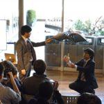 Free Parasol: Tulevaisuudessa sateenvarjoja kannattelevat drone-lennokit, jotka seuraavat automaattisesti