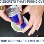 7 niksiä, jotka vain Mcdonald'silla työskentelevät tietävät, mm. omat mikropopcornit