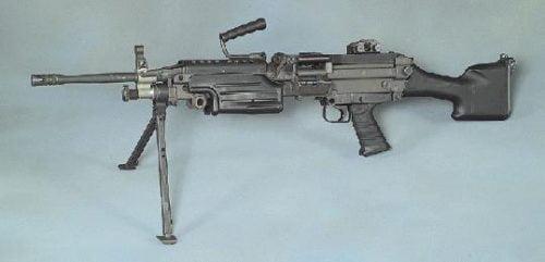 Machine gun, 5.56mm, M249 Squad Automatic Weapon System (SAWS)