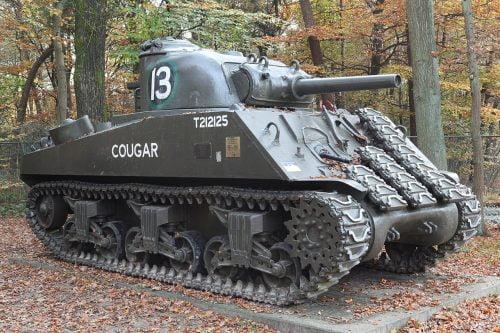 M4 Sherman tank Cougar, Arnhemseweg 120 6711GP Ede NL