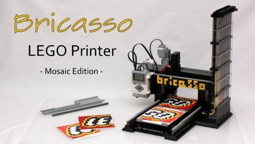 LEGO Mosaic Printer Bricasso