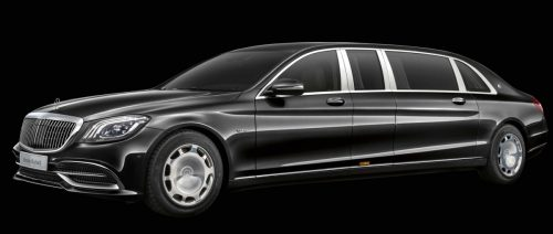 Mercedes-Benz -- The new Mercedes-Maybach S 650 Pullman