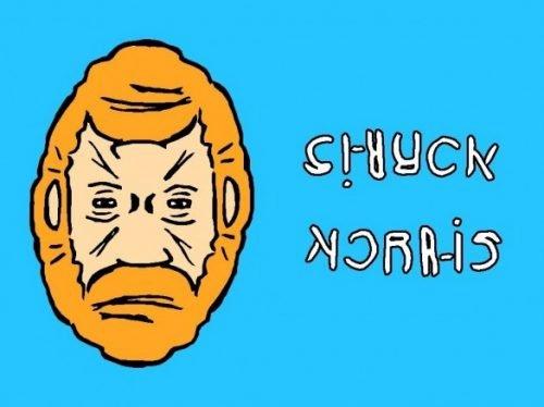 Chuck Norris ambigrammi