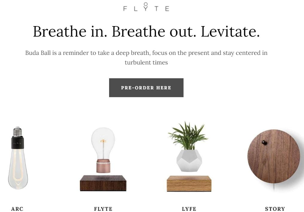 Muita Flyte-tuotteita