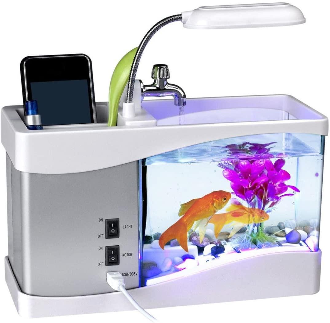 Mini-USB-akvaario (toinen malli)