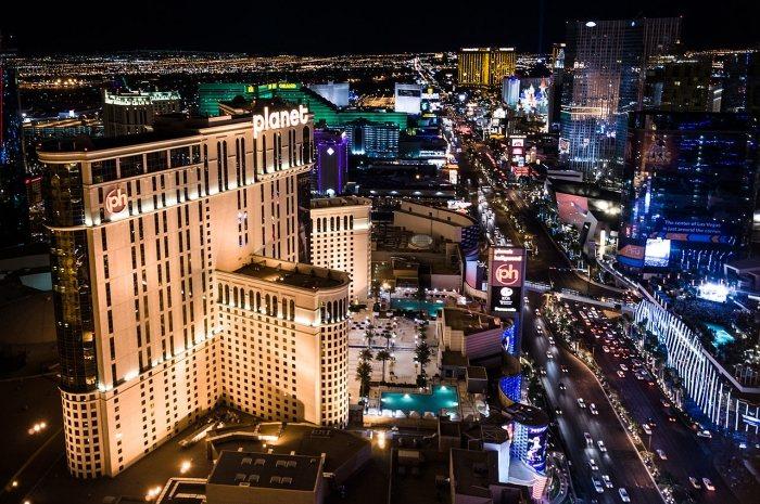 Las Vegas Boulevard ilmakuva (2012)