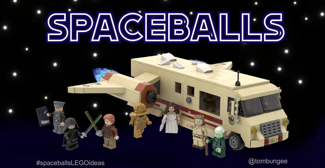 LEGO Spaceballs - Avaruusboltsit - rakennussarja