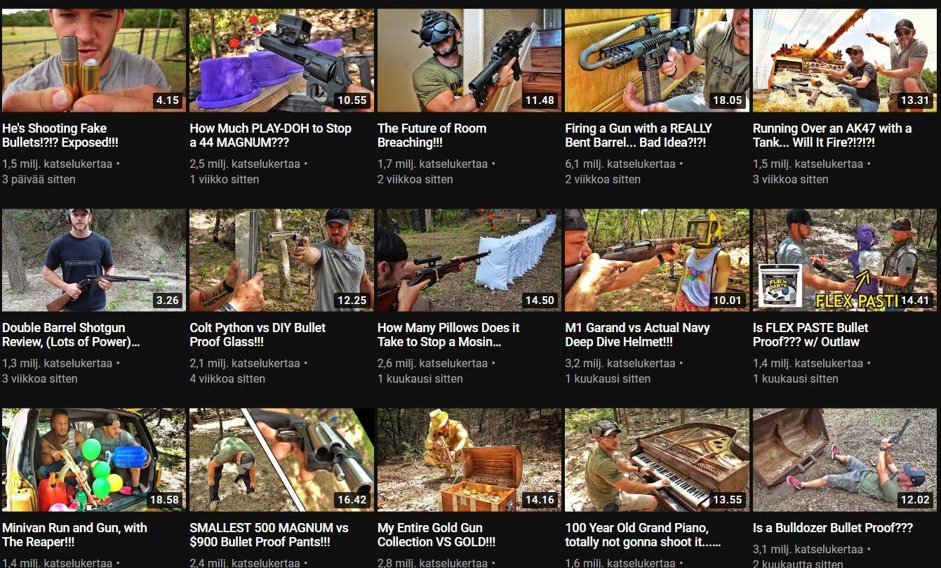 Kanavan videoita