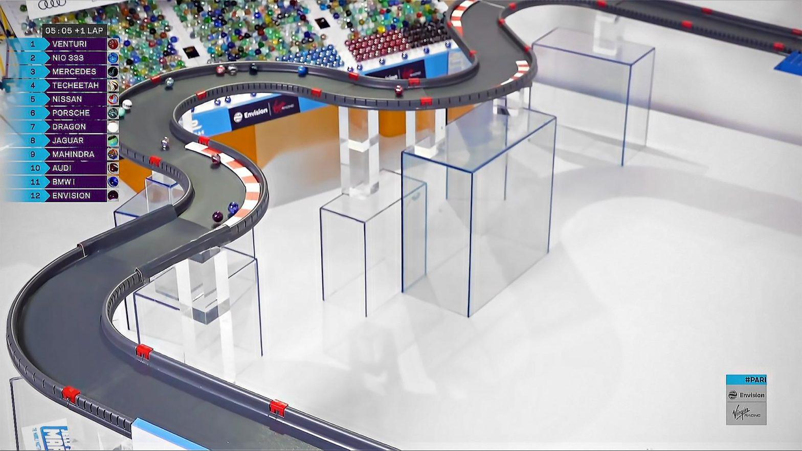 "Marbula E Race 1 ""Paris"" - Marble Race by Jelle's Marble Runs & Formula E"