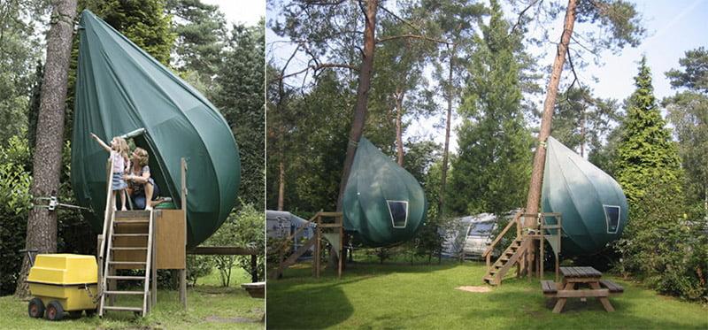 Dré Wapenaar's Unusual Tents