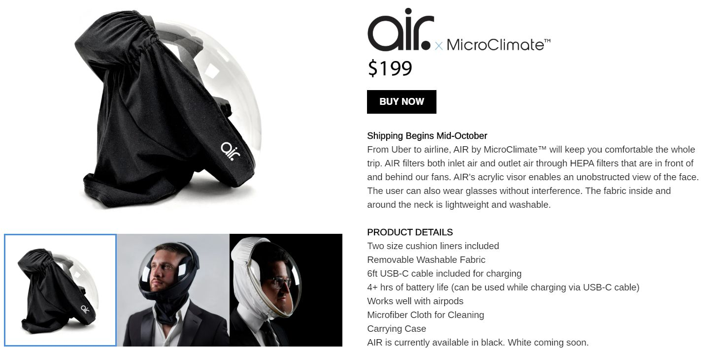 MicroClimate AIR