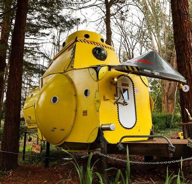 The Yellow Submarine - mökki
