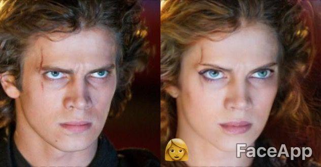 Darth Vader naisena