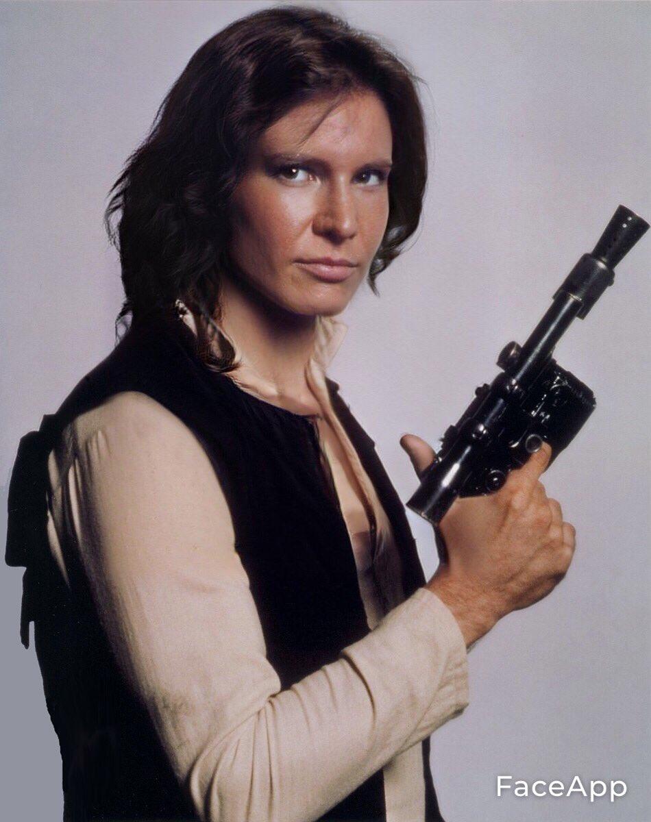 Han Solo naisena