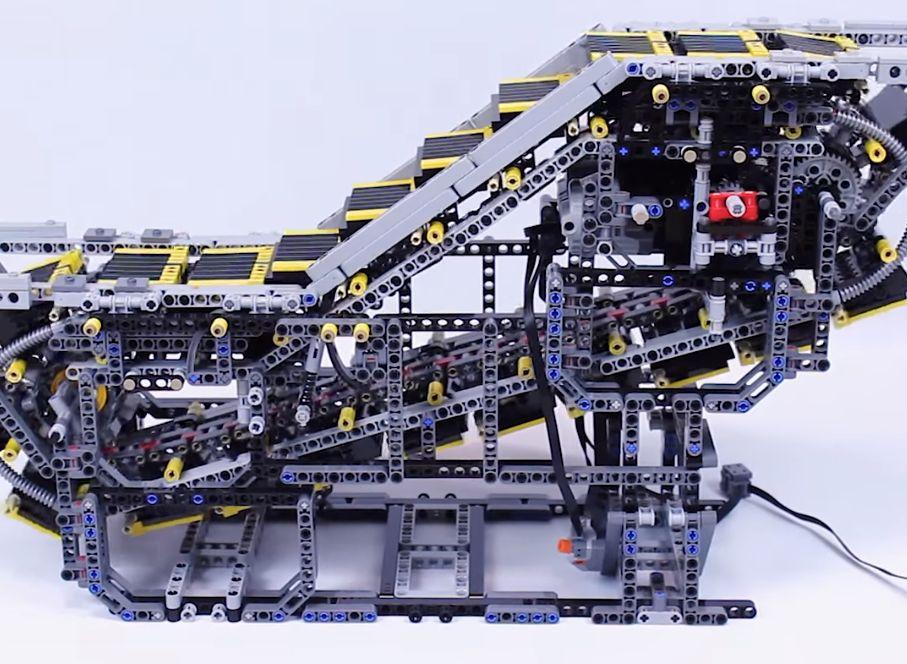 Lego-liukuportaat