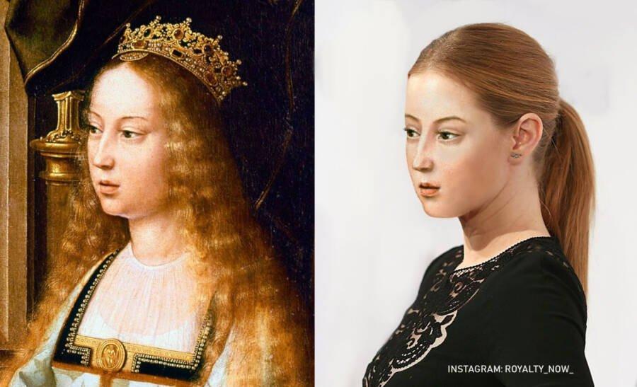 Queen Isabella of Spain.