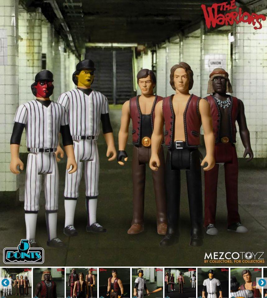 The Warriors 1979 -elokuva-action-figuurisetti