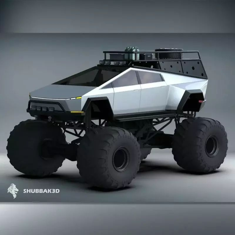 Tesla Monster Cybertruck -konsepti