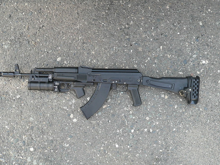 AK-103 with GP-25 Grenade Launcher