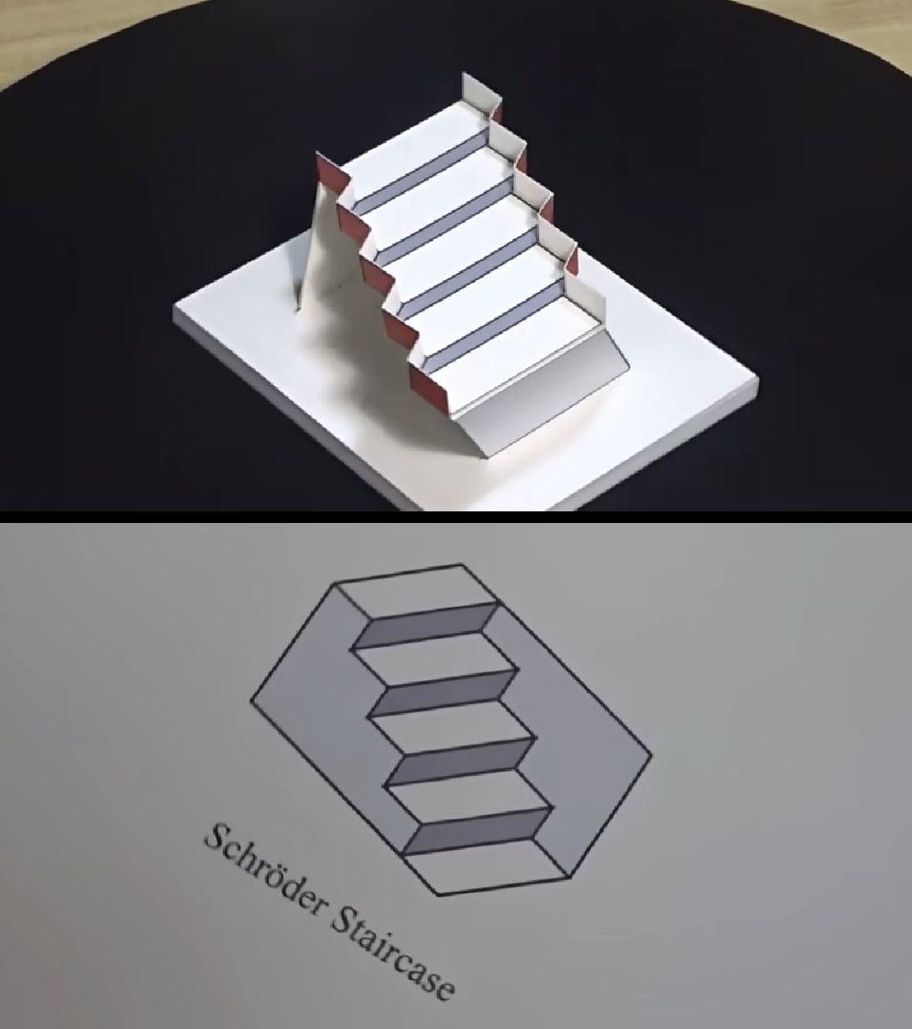 3D Schröder Staircase