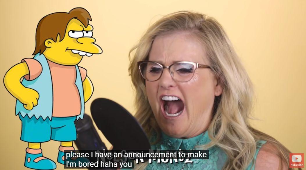 Simpsonien äänitaiteilija
