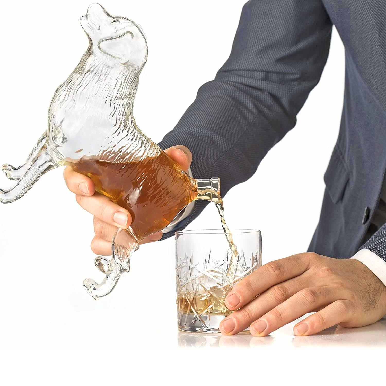 Juoma kaadetaan hännästä