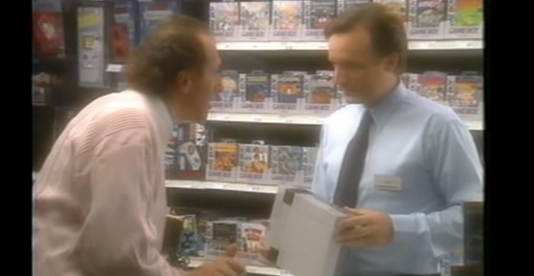 1991 NINTENDO TRAINING VIDEO FOR DEALING WITH DIFFICULT CUSTOMERS