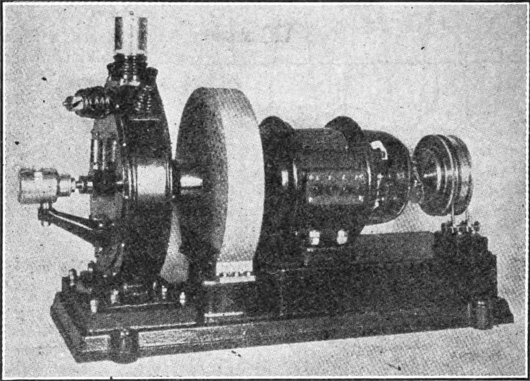 Goldschmidt tone wheel (1910), used as an early beat frequency oscillator