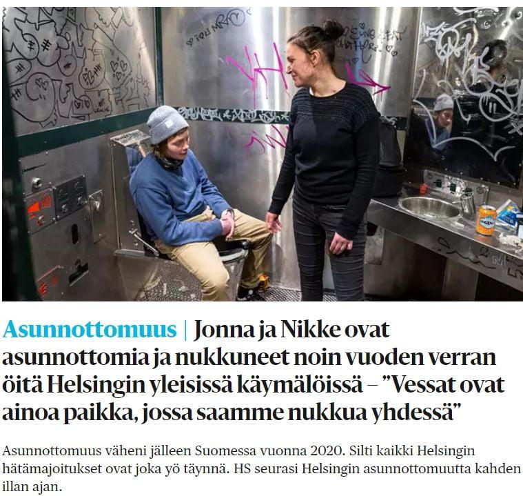 Kodittomuus Suomessa