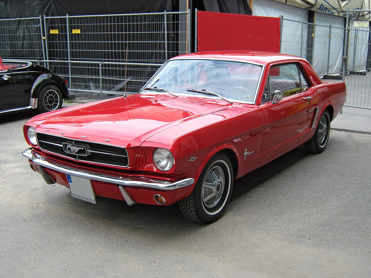 1965 Ford Mustang 2D Hardtop frontview